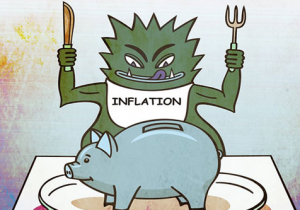 Inflation Monster Causes Financial Erosion